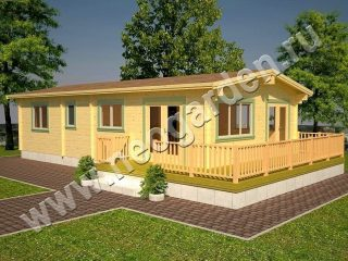 деревянные дачные дома в Санкт-Петербурге