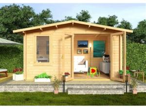 Садовые деревянные домики из бруса под ключ - Садовые деревянные домики из бруса под ключ: комфорт по доступной цене - 1 min 1024x768 1 300x225