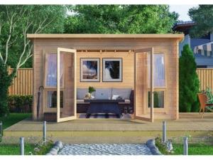 Садовые деревянные домики из бруса под ключ - Садовые деревянные домики из бруса под ключ: комфорт по доступной цене - 22 min 1024x768 300x225