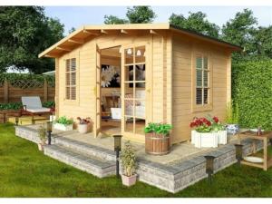Садовые деревянные домики из бруса под ключ - Садовые деревянные домики из бруса под ключ: комфорт по доступной цене - 4 min 1024x768 1 300x225