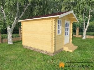 Садовые деревянные домики из бруса под ключ - Садовые деревянные домики из бруса под ключ: комфорт по доступной цене - 1 min 5 300x225