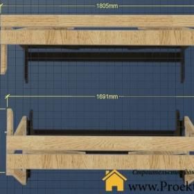 навес - Дачный стол трансформер своими руками - 17 min 280x280