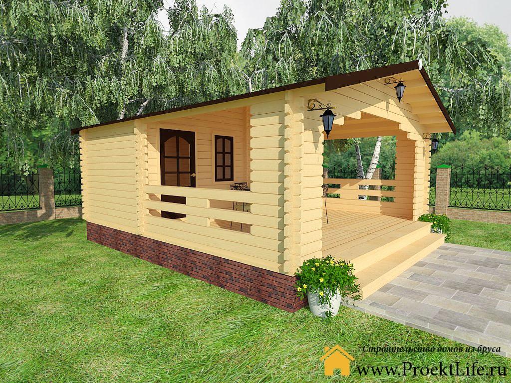 Проекты деревянных домов из бревна: готовые срубы домов и
