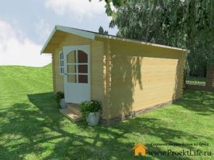 Садовые деревянные домики из бруса под ключ - Садовые деревянные домики из бруса под ключ: комфорт по доступной цене - 6 1 min 300x225