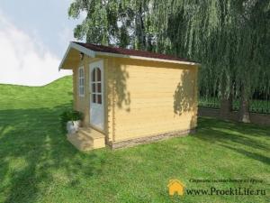 Садовые деревянные домики из бруса под ключ - Садовые деревянные домики из бруса под ключ: комфорт по доступной цене - 6 min 2 300x225