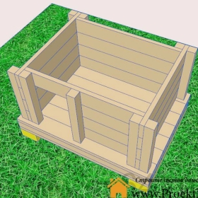 будка - Будка для собаки своими руками-чертеж - Screenshot 7 min 280x280
