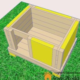 будка - Будка для собаки своими руками-чертеж - Screenshot 8 min 280x280
