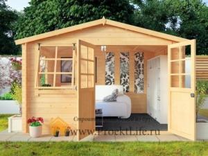 Садовые деревянные домики из бруса под ключ - Садовые деревянные домики из бруса под ключ: комфорт по доступной цене - 35 2 min 300x225