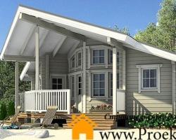 Деревянные дома из бруса под ключ – проекты и цены