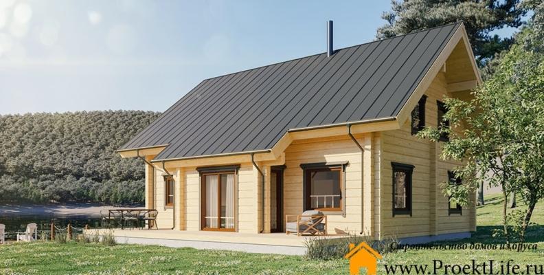деревянные дома из бруса недорого