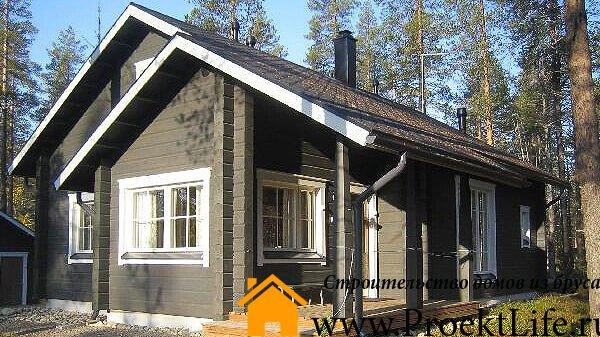 Строительство домов из бруса недорого под ключ