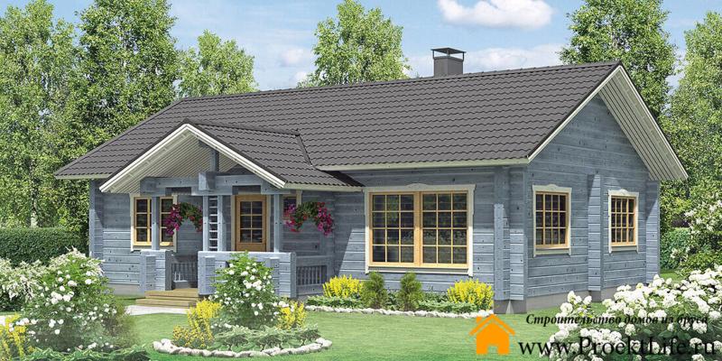 Комплекты домов из бруса и мини бруса для самостоятельной сборки