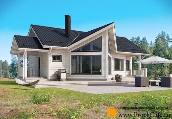Дачные гостевые дома из бруса 160 мм