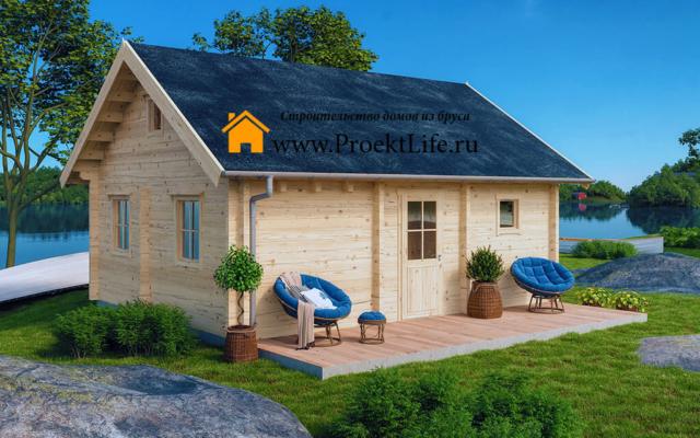 Купить дом из бруса и мини бруса до 200 000 рублей