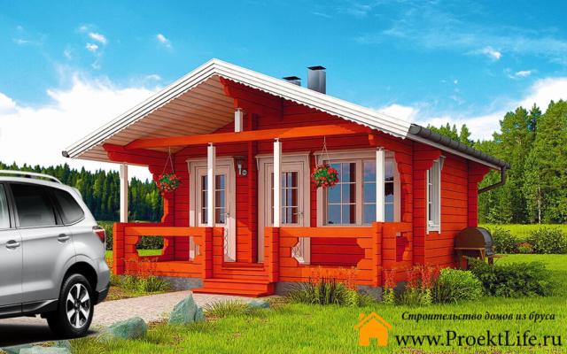 Домокомплекты домов из бруса до 400000 в Москве, Санкт-Петербурге