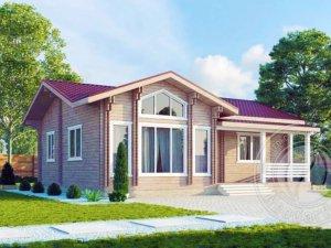 Купить дом из двойного бруса