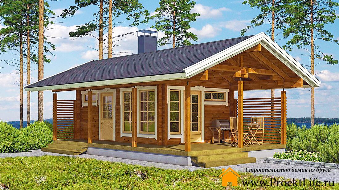Бюджетные маленькие садовые домики в Санкт-Петербурге, Москве