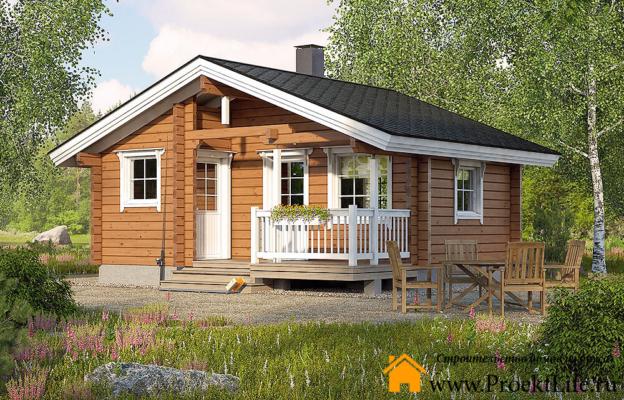 Недорогие дома из бруса для постоянного проживания