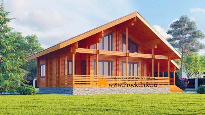 Строительство домов из двойного бруса СПБ