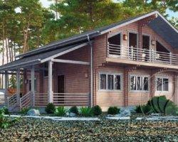 Строительство энергосберегающих домов из двойного бруса