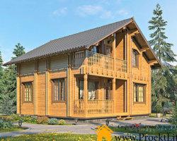 Производство домокомплектов из двойного бруса в Москве и МО