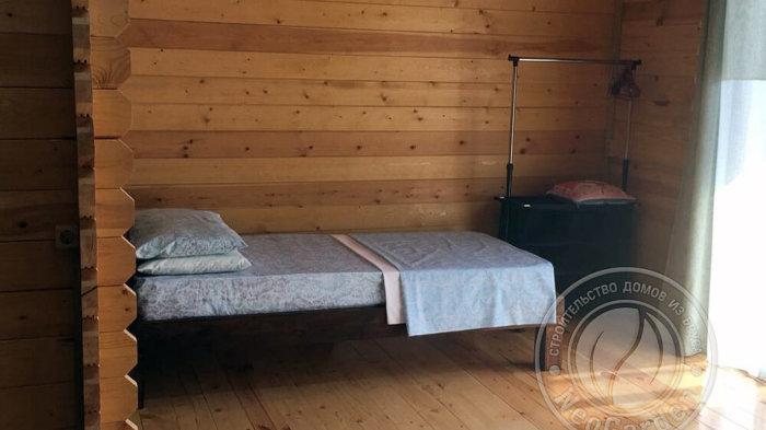 """Гостевой дом из мини бруса """"Подсолнух"""" одноместная спальня"""