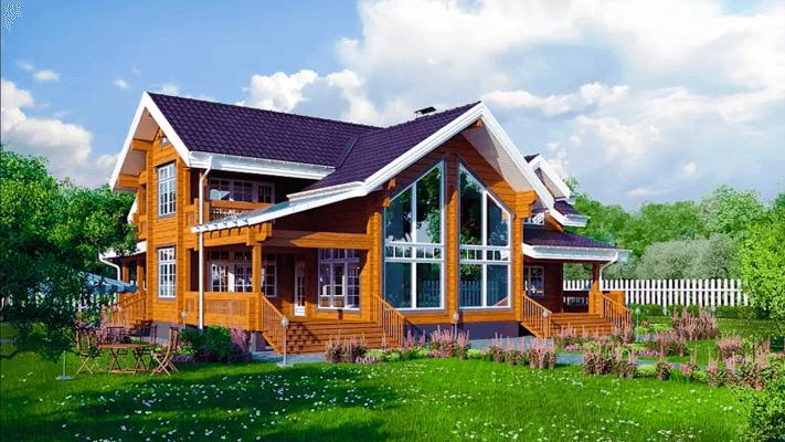 Строительство домов из бруса в Бронницах Московской области